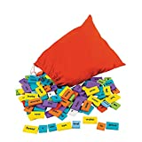 Fun Express Sentence Building Dominos - 200 Pieces - Educational and Learning Activities for Kids