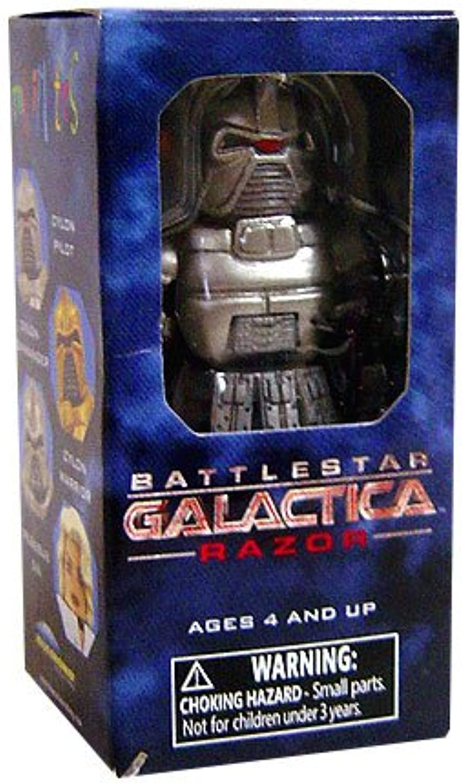 Battlestar Galactica Razor MiniMates  Cylon Warrior  Single Pack