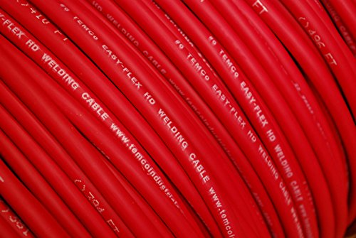 WELDING CABLE 2 AWG BLACK 150/' FT BATTERY LEADS USA NEW Gauge Copper