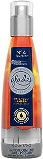 Glade Fine Fragrance Mist, 6.2 OZ (No. 4 Amber & Patchouli, Pack - 3)