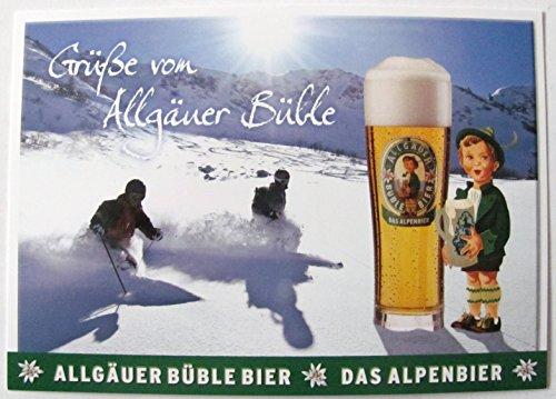 Allgäuer Brauhaus - Büble Bier - Grüße von Allgäuer Büble - Postkarte - Motiv 02