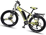 GYL Bicicleta eléctrica Bicicleta de montaña Scooter Scooter para adultos con batería de litio móvil de 8Ah 350W 36V Bicicleta de 26 pulgadas Bicicleta de 21 velocidades Adecuado para deportes al air