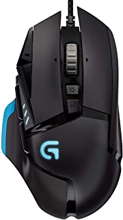 Logitech G502 Proteus RGB Spectrum Tunable Gaming Mouse - Black