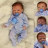 ZIYIUI Muñecas Reborn Realistic Baby Girl 20 Pulgadas 50 cm Muñeca de Silicona Suave Babe Reborn Baratos Real Reborn Baby Vinyl Doll Hecho a Mano Reborn Toddler Girl Juguete de Regalo Reborn Doll