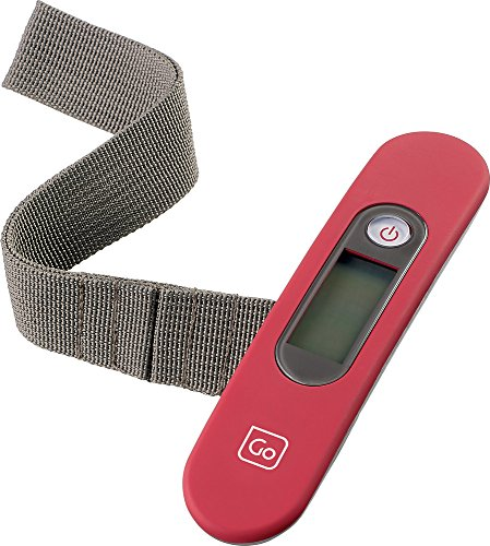 Go Travel Ultra Lightweight Digital Luggage Weighing Scales to 40Kg. (Ref 2006)