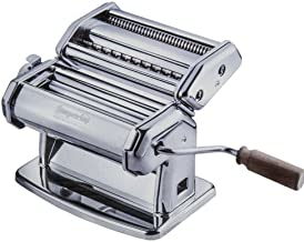 Imperia Pasta Maker Machine – Heavy Duty Steel Construction w Easy Lock Dial and..
