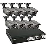 Q-See QT-5716 16 Channel Full D1 Security System with 1TB HDD and 8 650TVL High Resolution Weatherproof Cameras