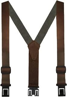 Men's Leather Dress Hook End Suspenders