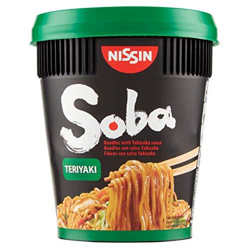 Nissin Noodles Con Salsa Japonesa Vaso 90Gr