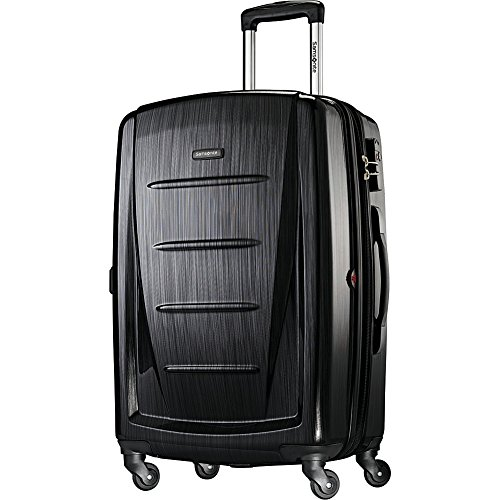 Samsonite Winfield 2 Hardside Luggage, Brushed Anthracite, Checked-Medium
