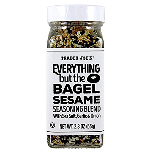 Trader Joe's Everything but The Bagel Sesame Seasoning Blend 2.3 oz (65 g) - PACK OF 2
