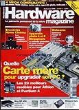 HARDWARE MAGAZINE [No 3] du 01/02/2003 - 4 MEGA COMPARATIFS - QUELLE CARTE MERE POUR...