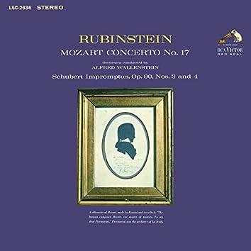 Mozart: Piano Concerto No. 17 in G Major, K. 453 - Schubert: Impromptu No. 3 in G-Flat Major & Impromptu No. 4 in A-Flat Major, D. 899