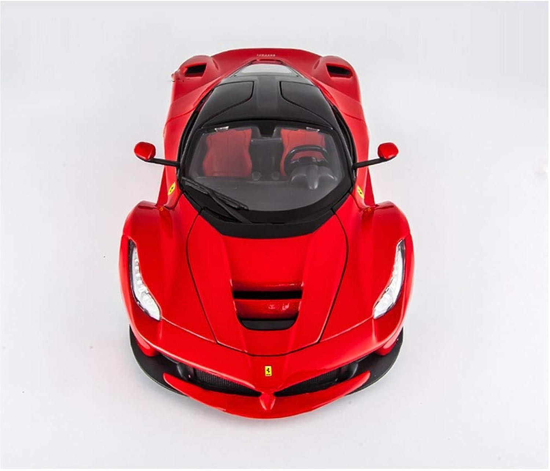 más vendido JTWJ Modelo súper Corriente de de de Ferrari 1 18 Modelo Deportivo con aleación de simulación, tamaño  26X10X6.3cm  Venta en línea precio bajo descuento