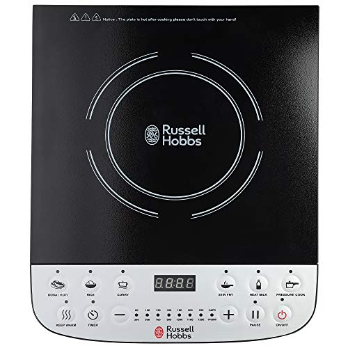 Russell Hobbs RIC1400X - 1400 Watt Induction Cooktop with LED...