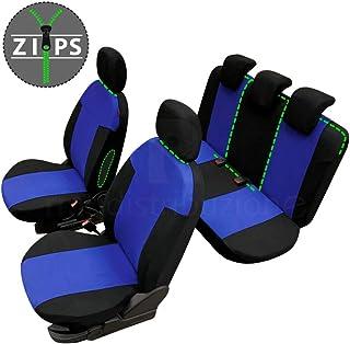 compatibili con sedili con airbag bracciolo Laterale 1999-2010 sedili Posteriori Non sdoppiabili R16S0188 rmg-distribuzione Coprisedili per Punto Versione