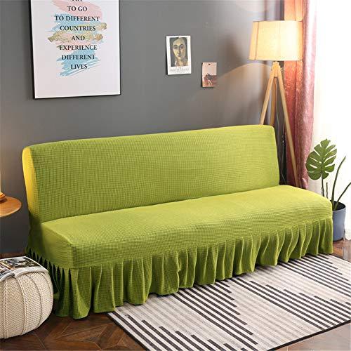 Fundas de sofá para cama de 3 plazas, sin brazos, funda de...