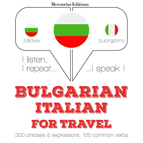 Bulgarian - Italian. For travel cover art