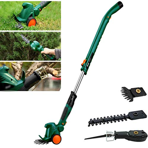 Great Deal! Priority Culture Grass Trimmer String Trimmer, Small Household Electric Weeder, Multifun...