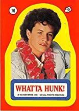 Kirk Cameron trading card sticker Growing Pains Mike Seaver 1988 Topps #10 What A Hunk