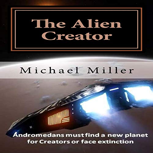 The Alien Creator audiobook cover art