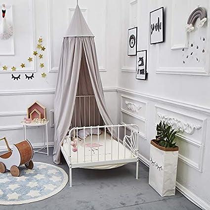 Baby Baldachin Betthimmel Kinder Babys Bett Baumwolle H/ängende Moskiton f/ür Schlafzimmer Ankleidezimmer Spiel Lesen Zeit H/öhe 240 cm Sauml/änge 270cm