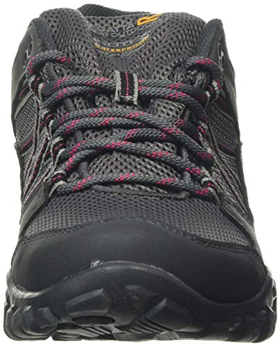 Regatta edgepoint III' Waterproof Walking Shoes, Zapatillas de Senderismo Mujer, Gris (Granit/Duchess 805), 36 EU