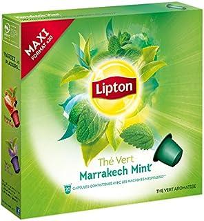 Lipton Coffret Thé Vert Marrakech Mint 20 Capsules 50 g