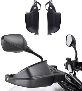 Motorcycle Handguard Brake Clutch Protector for Kawasaki Versys 650 1000 LT Z900 ZR900 2010 2011 2012 2013 2014 2015 2016 2017 Plastic Black Versys650 Versys1000 Hand Guard