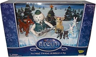 Rudolph the Red Nosed Reindeer: The Most Famous Reindeer of All Boxed Set of Action Figures Limited Edition