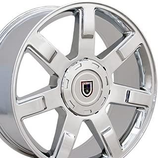 OE Wheels 22 Inch Fits Chevy Silverado Tahoe GMC Sierra Yukon Cadillac Escalade CV80 Chrome 22x9 Rim Hollander 5309