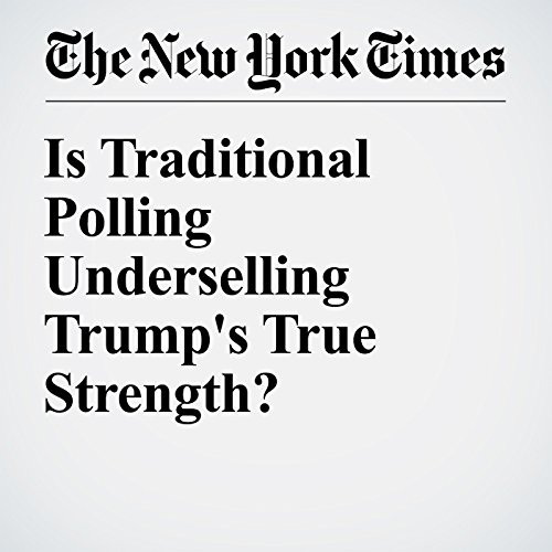 Is Traditional Polling Underselling Trump's True Strength? audiobook cover art