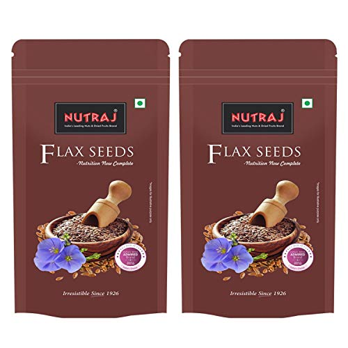 Nutraj Flax Seeds 200g (Pack of 2)