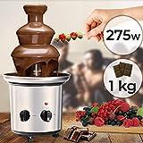 Fontaine à Chocolat - 275 W, 3 Étages, Capacité 1 kg, Électrique, H 39 cm, en...