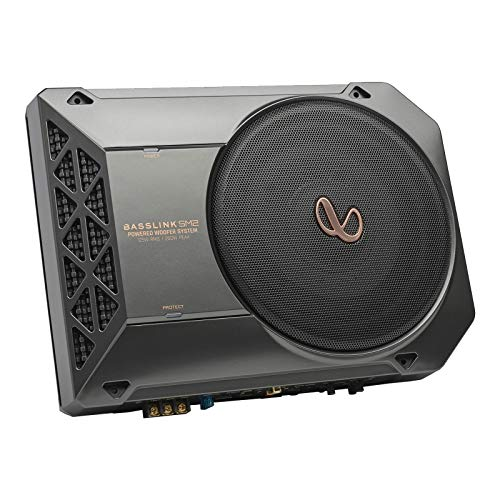 """Infinity Basslink SM2- Powered, 8"""" Underseat Subwoofer with Remote..."""