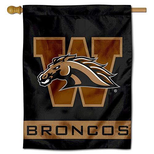 Western Michigan Broncos Banner House Flag