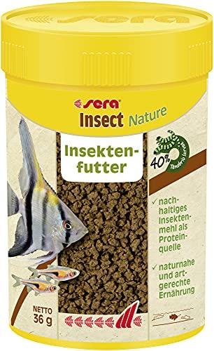 sera Insect Nature 1,5 mm 100 ml, 1er Pack (1 x 0.036 kilograms)