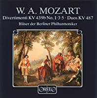 モーツァルト:クラリネットとバセットホルンのための作品集  (Mozart, Wolfgang Amadeus: Divertimenti KV 439b No. 1, 3, 5, Duos KV 487)