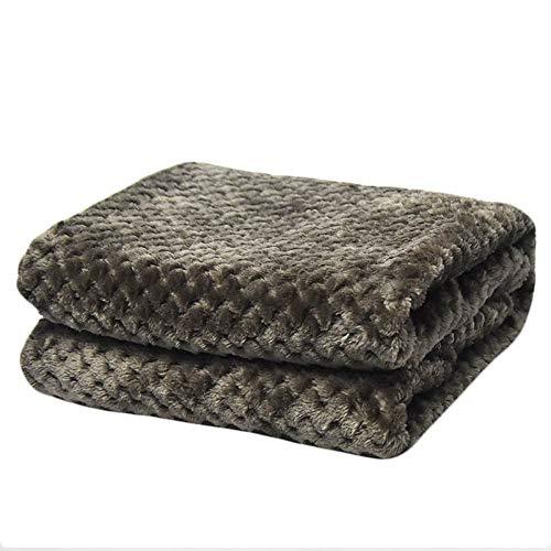 BNSFT Deken, draagbare zachte deken, grijs, flanel, vliegtuigen, sofa met kantoor, kinderdeken, handdoek, reizen, vliezen, ramen, autodeken 100x150cm