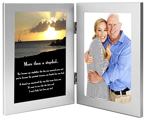 Stepfather Gift, Touching Poem for Stepdad for Birthday or Father