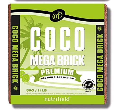 Coco Mega Brick Premium Organic Plant Medium RHP Certified