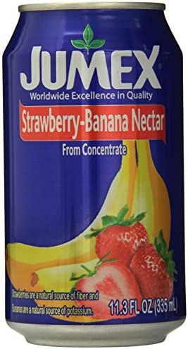 Jumex Nectar Juice Strawberry Banana 11 30 Ounce Pack of 24 product image