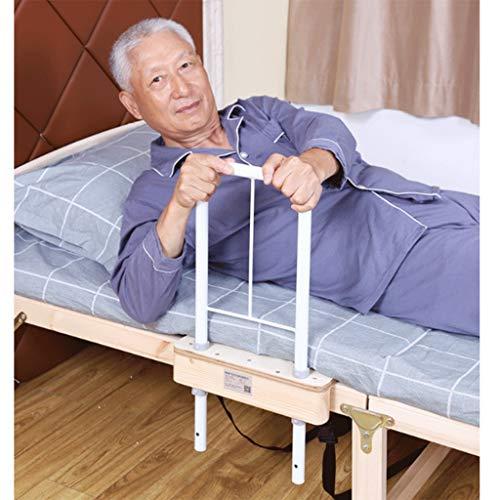 YF Regulable en Altura Plegable Desmontable Tren Cama Guardia Lado de la Seguridad for los Adultos Mayores manija Auxiliar Handicap Cama de Hospital Barandilla Agarre Barra de Parachoques