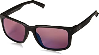 Under Armour UA Assist Square Sunglasses, UA Assist Satin Black/Black/Golf, M/L