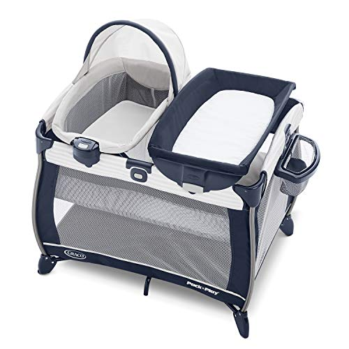 Graco Pack 'n Play Quick Connect Portable Bassinet Playard, Alex