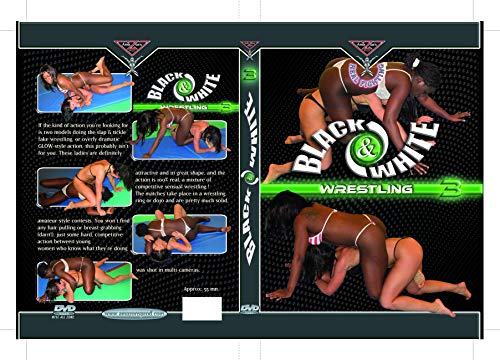 BLACK & WHITE WRESTLING 3 DVD Amazon's Prod