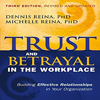 Trust and Betrayal in the Workplace audiobook cover art