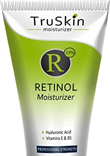 Sponsored Ad - TruSkin Retinol Cream Anti-Wrinkle Moisturizer for Face Care and Eye Area with Hyaluronic Acid, Green Tea, ...