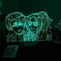 ホームルームの装飾ライト子供クリスマス誕生日ギフトハンゲゾーマ誕生日のギフトハンゲゾウ誕生日のギフトハンゲゾーデーLINDナイトライトアニメの攻撃への攻撃-リモコン