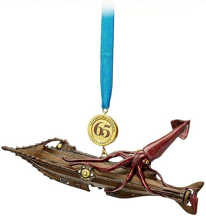 Disney 20,000 Leagues Under the Sea Legacy 65th Anniversary Ornament